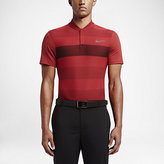 Nike Momentum Fly Swing Knit Stripe Alpha Men's Slim Fit Golf Polo