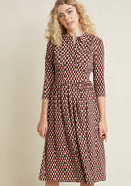 Fever London Proper Proposal Midi Dress in 8 (UK) - A-line by Fever London from ModCloth