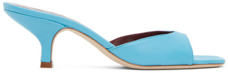 STAUD Blue Gene Heeled Sandals