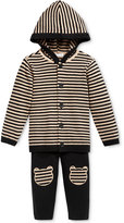 First Impressions Baby Boys' 2-Pc. Stripe Hoodie & Pants Set, Only at Macy's
