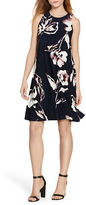 Lauren Ralph Lauren Roundneck Floral Shift Dress
