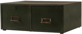 Rejuvenation Industrial 2-Drawer Steel Filing Cabinet c1935
