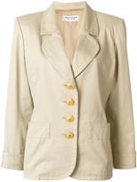 Saint Laurent Pre Owned buttoned jacket