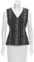 Reed Krakoff Patterned Sleeveless Top