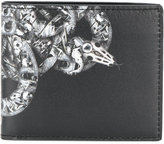Marcelo Burlon County of Milan embroidered bi-fold wallet - men - Leather - One Size