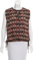 Etoile Isabel Marant Sleeveless Printed Top w/ Tags