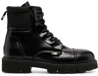 Tommy Jeans Lace-Up Ankle Boots