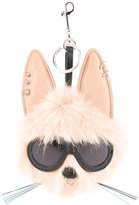 Stella McCartney rabbit keyring - women - Polyester/Polyurethane - One Size