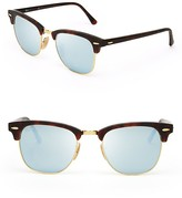 Ray-Ban Mirrored Clubmaster Sunglasses, 51mm