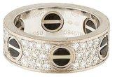 Cartier Diamond & Ceramic LOVE Ring