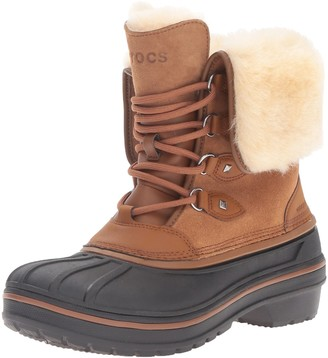 Crocs Women's AllCast Ii Luxe Snow Boot