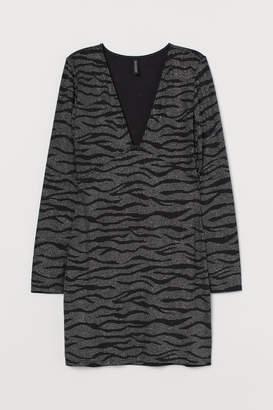 H&M Glittery Dress - Black