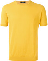 Roberto Collina knitted T-shirt - men - Cotton - 52