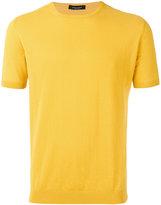 Roberto Collina knitted T-shirt - men - Cotton - 52