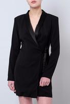 Do & Be Tuxedo Jacket Dress