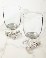 Godinger Airplane Wine Glasses, Set of 2