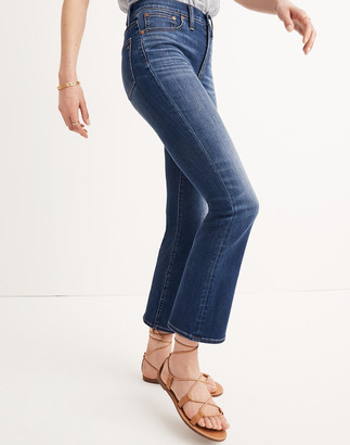 Madewell Petite Cali Demi-Boot Jeans in Danny Wash: TENCEL Denim Edition