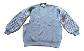 Stella McCartney Grey Cashmere Knitwear