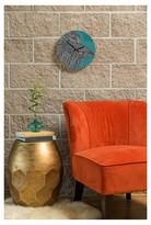 DENY Designs Valentina Ramos - Beta Fish Round Clock