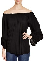 Cupio Off-The-Shoulder Top