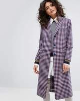 Sonia By Sonia Rykiel Small Check Tailorerd Coat