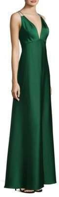 Aidan Mattox Double Strap Gown