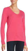 Lord & Taylor V-Neck Tee