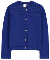 Little Karl Marc John Guatemy Mother-Of-Pearl Button Cardigan