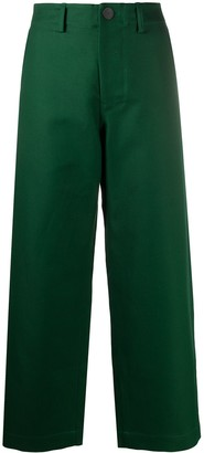 Sofie D'hoore Wide-Leg Cropped Trousers