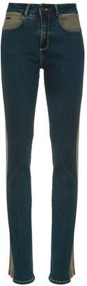 Tufi Duek Gisele panelled jeans