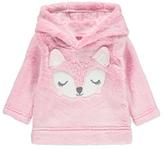 George Faux Fur Fox Hoodie