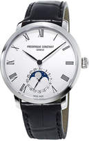 Frederique Constant 42mm Men's Slimline Moonphase Manufacture Watch