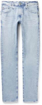 AG Jeans Tellis Slim-Fit Faded Stretch-Denim Jeans