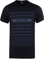 Paul & Shark Navy Striped Crew Neck T-shirt