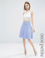 Asos Prom Skirt with Pep Hem