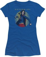 Other TV Shows Supergirl DC Comics Character TV Show Punch Pose Juniors Sheer T-Shirt Tee