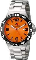 Calibre Men's SC-5L1-04-079 Lancer Analog Display Quartz Silver Watch