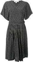 Diane von Furstenberg dotted wrap dress - women - Silk - 2