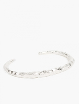 All Blues 925 Silver Carved Satiated Snake Bangle