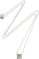 Anita Ko Spike 18-karat white gold diamond necklace