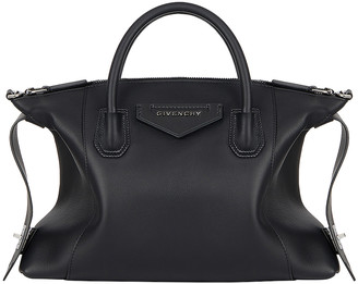 Givenchy Small Antigona Soft Bag in Black | FWRD