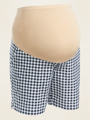 Old Navy Maternity Full-Panel Everyday Shorts -- 7-inch inseam