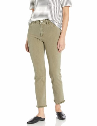 DL1961 Women's Mara Ankle-High Rise Straight Jeans