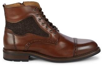 Johnston & Murphy Fullerton Leather Ankle Boots