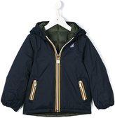 K Way Kids - reversible padded jacket - kids - Polyamide/Feather - 2 yrs