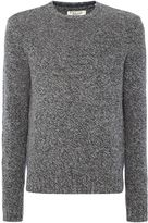 Original Penguin Men's Mouline-Lambswool Crew-Neck Knitted Jumper