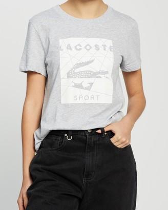 Lacoste Tennis Logo Jersey T-Shirt