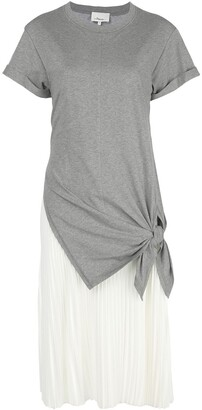 3.1 Phillip Lim Contrast Hem Short-Sleeve Dress