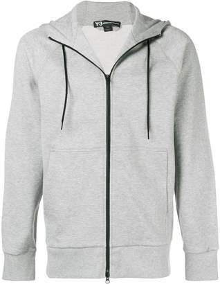 Y-3 zip-up hooded sweatshirt