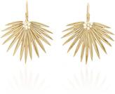 Annette Ferdinandsen Large Fan Palm Earrings with Pearls
